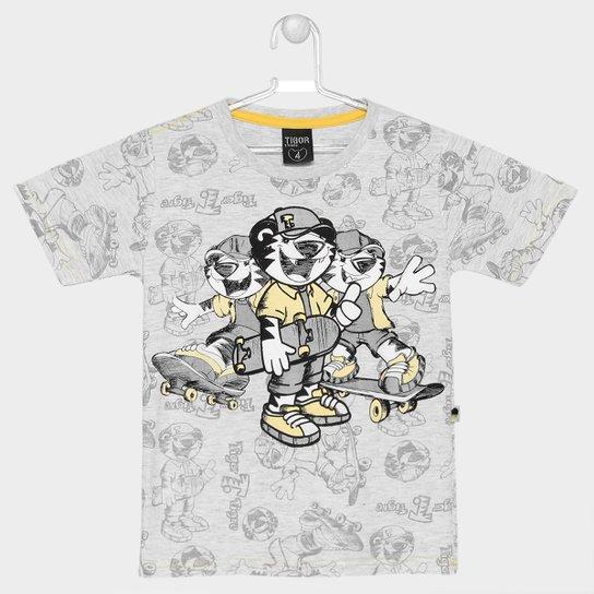 7aee9945de Camiseta Tigor T. Tigre Estampada Infantil - Compre Agora