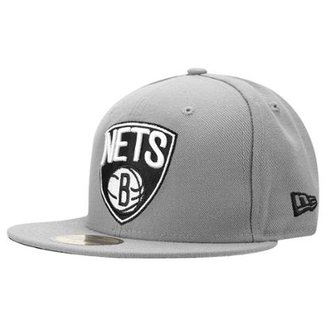 1af9da427d218 Boné New Era 5950 Brooklyn Nets