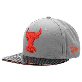 Boné New Era 5950 Team Perferad Chicago Bulls 8d66e9b7397