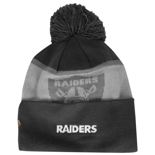 Gorro New Era NFL Thanksgiving Sport Colorway Oakland Raiders - Cinza+Chumbo 26c89a0393b