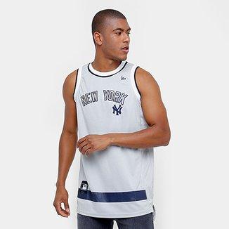 Camiseta Regata New Era MLB Basketball New York Yankees d79c067a546