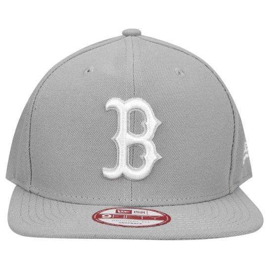 00ad7f5361850 Boné New Era 950 MLB Original Fit Boston Red Sox - Cinza - Compre ...