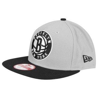Boné New Era 950 Of Sn NBA Two Tone Brooklyn Nets 10e5f34cf97