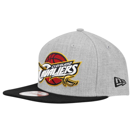 1bb826151ba9d Boné New Era 950 Of Sn NBA Cleveland Cavaliers - Cinza - Compre ...