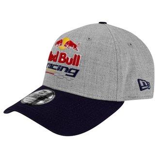 Boné New Era 3930HC Red Bull Heather Racing 74e6bec2dd8