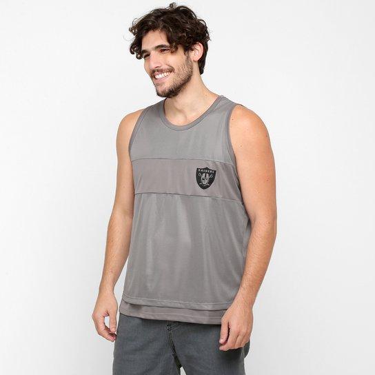 Camiseta Regata New Era NFL Mesh Oakland Raiders - Compre Agora ... c9823098f93