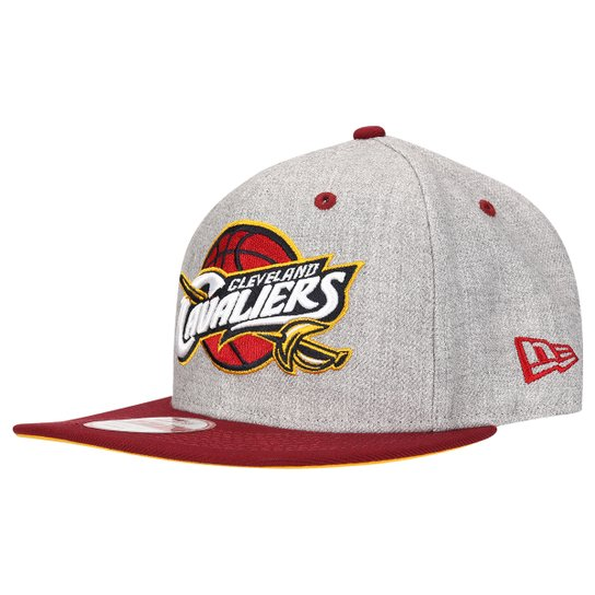 Boné New Era 950 Cleveland Cavaliers - Cinza+Vermelho 2956dbd7a0e