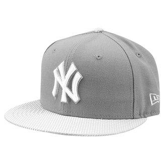 ba98bb26456dc Boné New Era MLB 5950 Flash Vize Fitted New York Yankees Stgcl