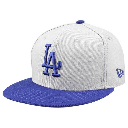 Boné New Era MLB 5950 Wool Standard Los Angeles Dodgers Otc - Compre ... 739153bf7b9