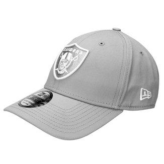 fb260b937c Boné New Era 3930 Hc White On Gray Oakland Raiders