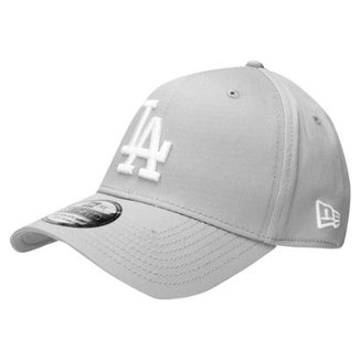 Boné New Era 3930 Hc White On Gray Los Angeles Dodgers 29f9ffae076