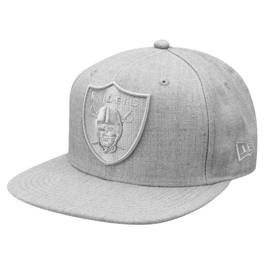 Boné New Era NFL 950 Of Sn Heather Basic Oakland Raiders - Compre ... 8168de76302