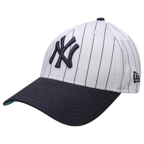 09ec6344fdc07 Boné New Era MLB 3930 Pinstripe Stretch New York Yankees - Compre ...