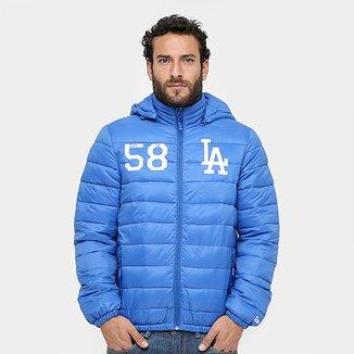 78b1b94a7a Jaqueta Los Angeles Dodgers MLB New Era New Comfortable 12