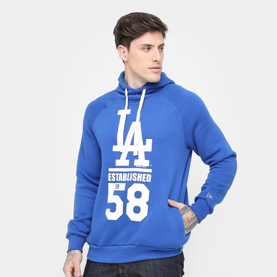 Moletom Los Angeles Dodgers New Era MLB 52 Masculino - Compre Agora ... 38493a03e0d