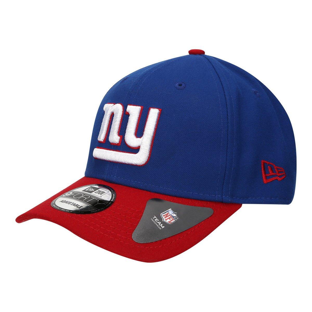 Boné New York Giants New Era Aba Curva NFL 940 Hc Sn Basic