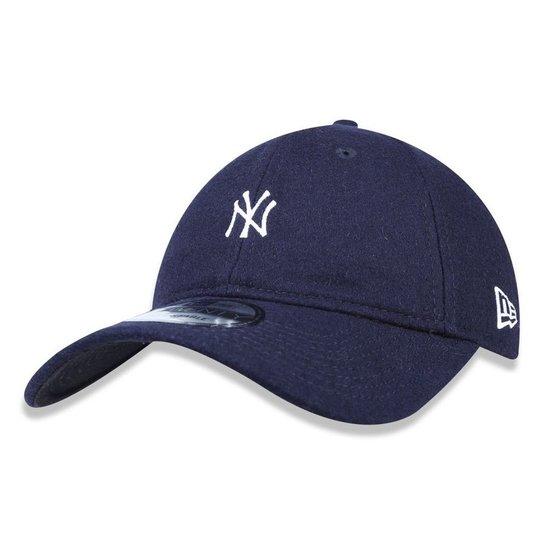 16a1062937 Boné New York Yankees Mini Logo - New Era - Cinza - Compre Agora ...