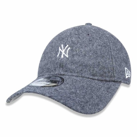 Boné New York Yankees 920 Mini Logo Cinza - New Era - Compre Agora ... 8d075f8b791