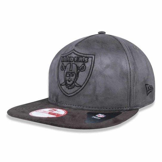 aba256c7c Boné Oakland Raiders 950 A-Frame Invisible Logo - New Era - Compre ...