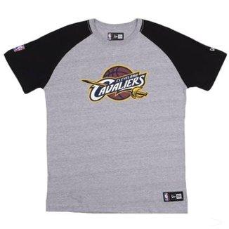 Camiseta Cleveland Cavaliers NBA Heather Basic - New Era 569d45a7fdd