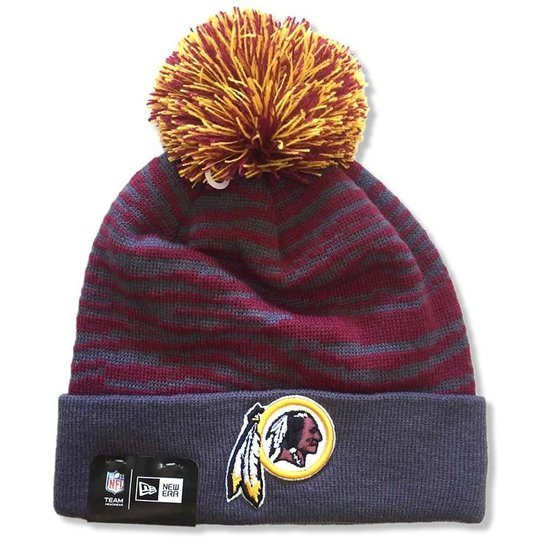 18b1acbfb00d8 Gorro Touca Washington Redskins Zebra Inside - New Era - Compre ...