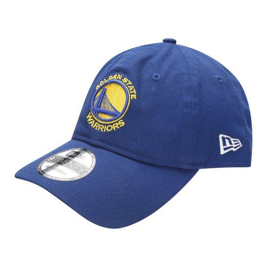 a86a1993389bf Boné New Era NBA 920 St Small Logo Golden State Warriors Playoffs - Azul  Royal