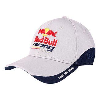 cad5d68ef0346 Boné New Era Red Bull Racing Aba Curva 3930 Wings