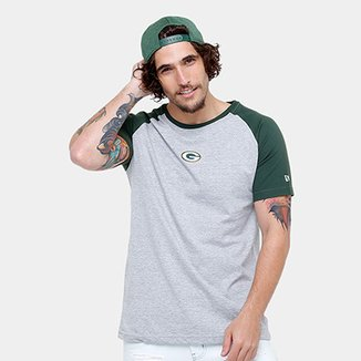 Camiseta NFL Green Bay Packers New Era Team Mini Logo Masculina 704b78a298752