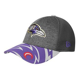 Boné New Era Baltimore Ravens Aba Curva 3930 Spotlight Masculino 3a649b64f7f
