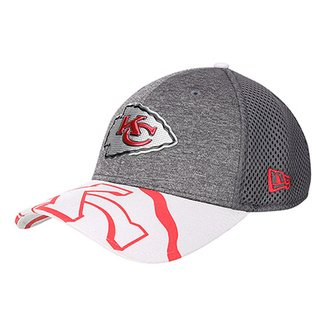 Boné New Era NFL Kansas City Chiefs Aba Curva 3930 Spotlight Masculino b315a06345e