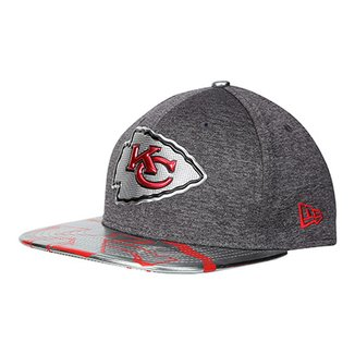 Boné New Era NFL Kansas City Chiefs Aba Reta 950 Original Fit Sn Spotlight  Masculino 1b5798cefb9