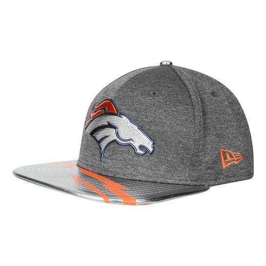 Boné New Era Denver Broncos Aba Reta 950 Original Fit Sn Spotlight  Masculino - Cinza+ 378d96e381e