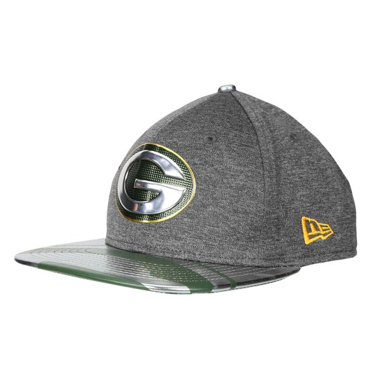 Boné New Era NFL Green Bay Packers Aba Reta 950 Original Fit Sn Spotlight  Masculino - 6123d1a232f