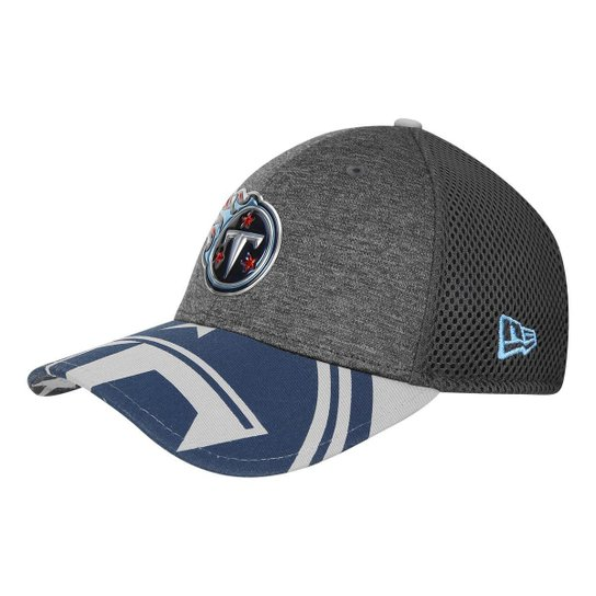caa037f8fc Boné New Era NFL Tennessee Titans Aba Curva 3930 Spotlight Masculino -  Chumbo