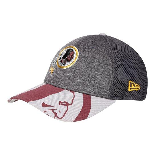 Boné New Era NFL Washington Redskins Aba Curva 3930 Spotlight Masculino -  Cinza 7b9711aea2e