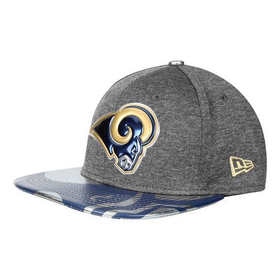 b562a9c2f Boné New Era NFL Los Angeles Rams Aba Reta 950 Original Fit Sn Spotlight  Masculino -
