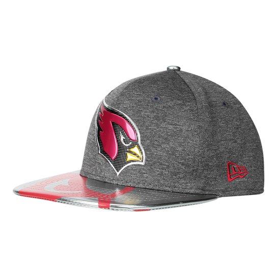 Boné New Era NFL Arizona Cardinals Aba Reta 950 Original Fit Sn Spotlight  Masculino - Cinza 69b3f902c4d