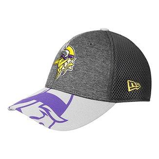 Boné New Era Minnesota Vikings Aba Curva 3930 Spotlight Masculino ed8496d51c4