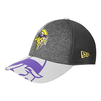 Boné New Era Minnesota Vikings Aba Curva 3930 Spotlight Masculino 41d21ab1c1a77