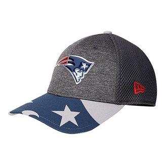 29a843b82 Boné New Era New England Patriots Aba Curva 3930 Spotlight Masculino
