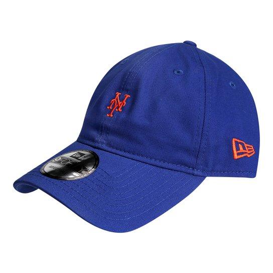 Boné New Era MLB New York Mets Aba Curva 940 St Lic 2041 FA17 - Azul c151b4c11f1