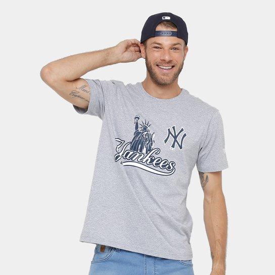 Camiseta New York Yankees New Era City Masculina - Compre Agora ... dafe8c225d3