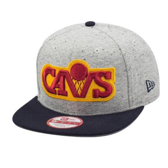 Boné New Era Snapback Original Fit Cleveland Cavaliers Heath Spec - NBA -  Cinza cc5465d828d