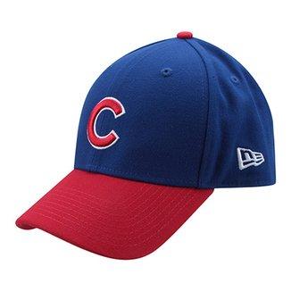 d66becfe9616b Boné New Era MLB Chicago Cubs Aba Curva 940 Hc Sn Basic Chicub