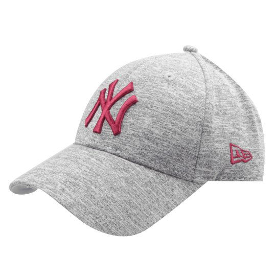 Boné New Era MLB New York Yankees Aba Curva 940 St Lic1023 Su17 - Cinza 1835eb38522