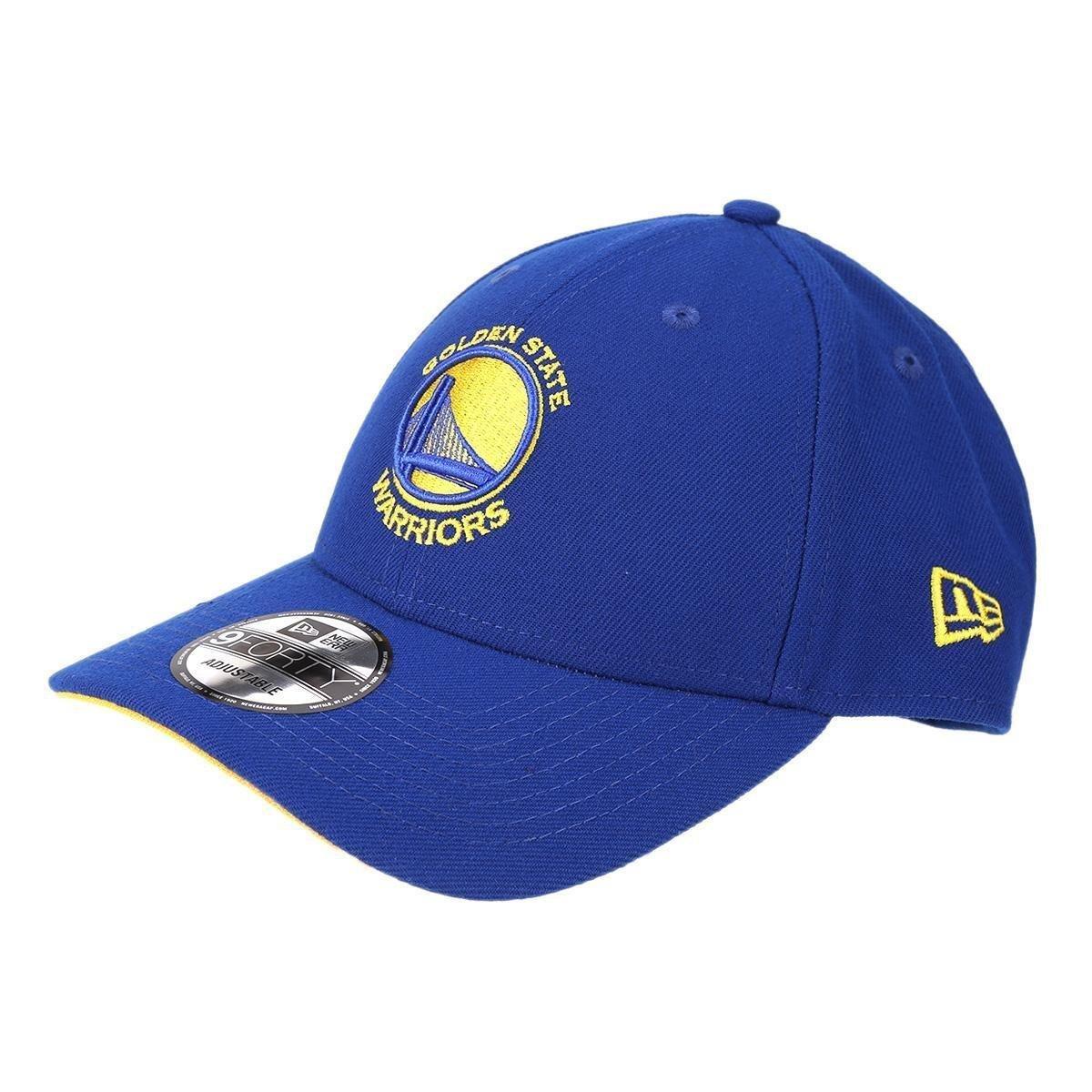 Boné New Era NBA Golden State Warriors Aba Curva Primary