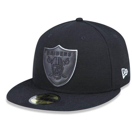 Boné Oakland Raiders 5950 Salute To Service 17 Fechado - New Era - Cinza 7ef903f15d6