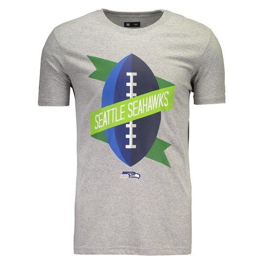 4602e33d5 Camiseta New Era NFL Seattle Seahawks Mescla - Compre Agora