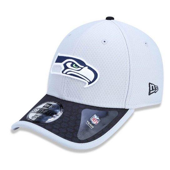 Boné Seattle Seahawks 3930 Sideline 2017 Gray New Era - Compre Agora ... 113d2463346