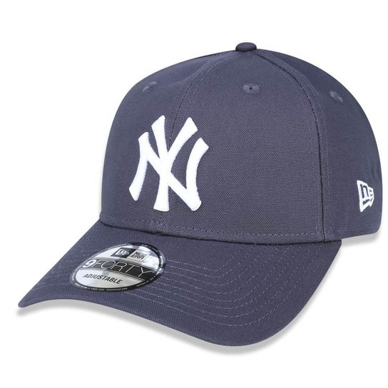 Boné New York Yankees 940 White on Gray New Era - Compre Agora ... 9a052540aac